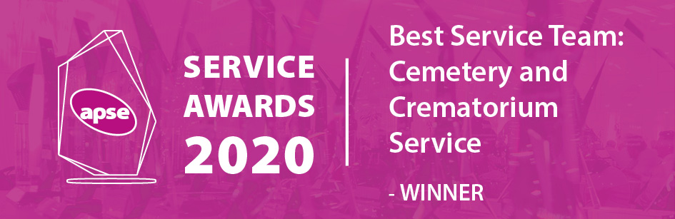 APSE Service Awards 2020 - Best Service Team: Cemetery and Crematorium Service - Winners